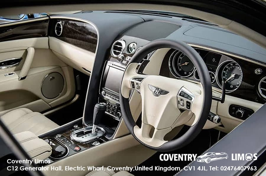 Bentley Flying Spur Hire White Coventry