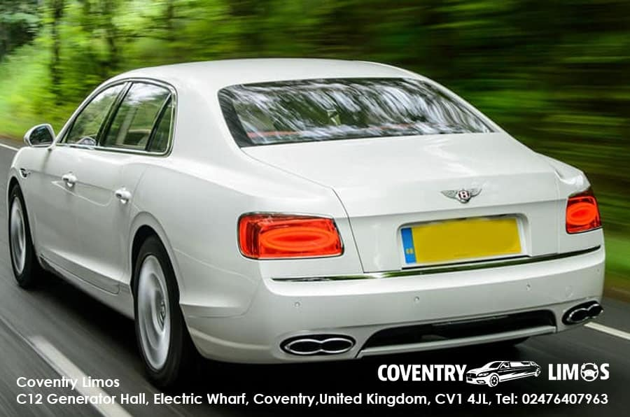 Bentley Flying Spur White Coventry Booking