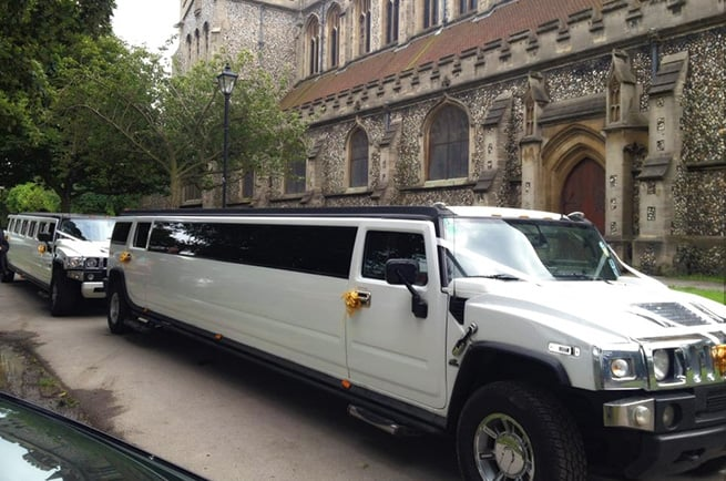 White Hummer In Coventry