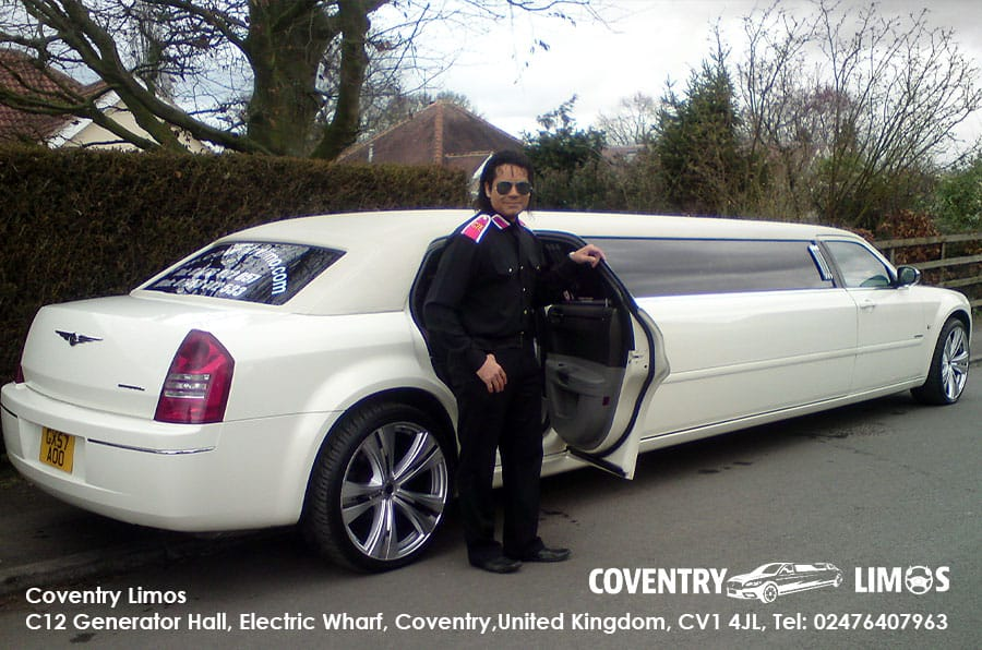 Chrysler Limousine Hire In Coventry