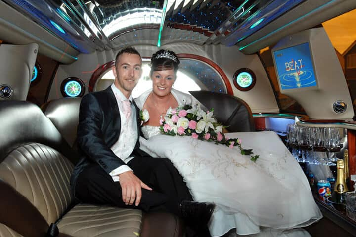 Coventry Inside Wedding Car