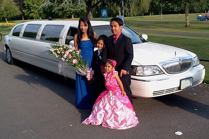 Coventry White Limousine
