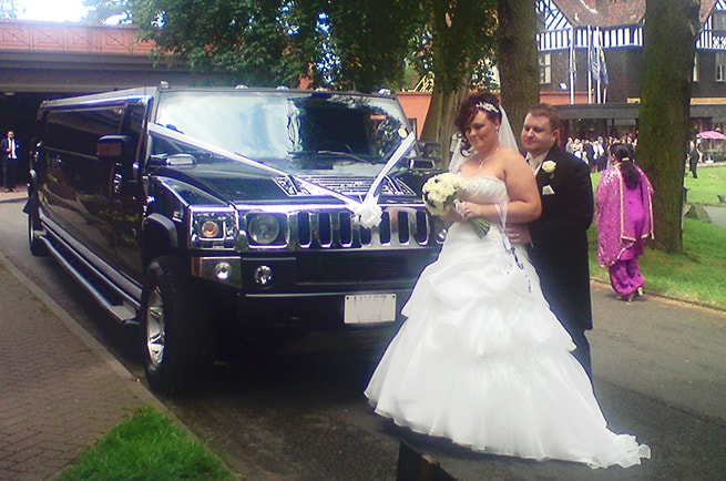 Coventry Wedding Hummer