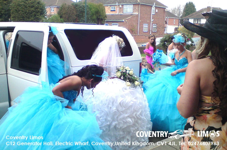 Gypsy Wedding Hummer Hire Coventry