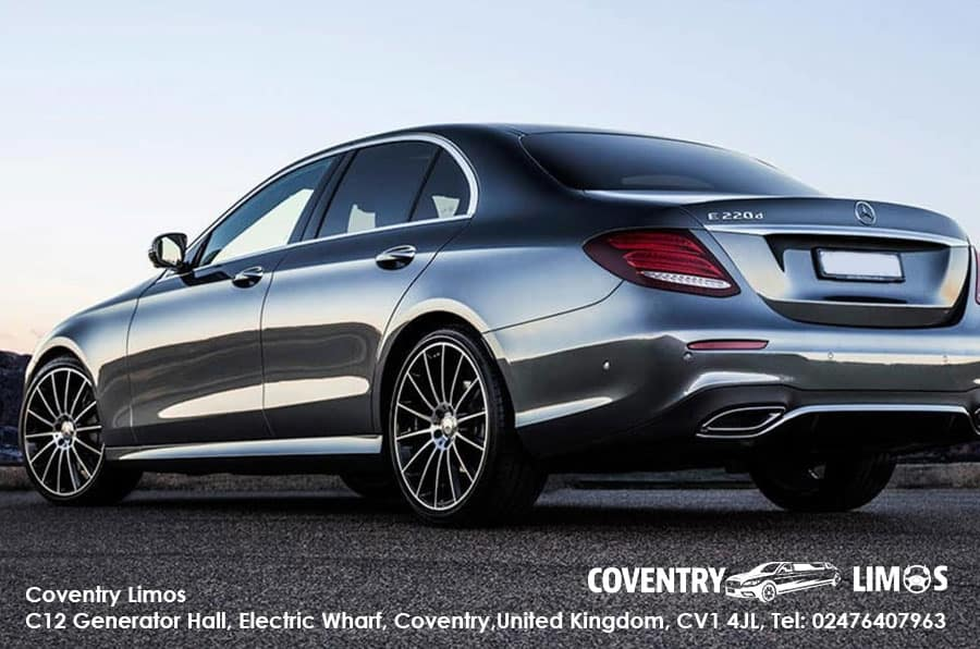 Mercedes E Hire Coventry Wedding