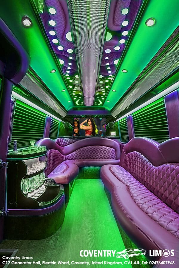 Party Bus Hire In Coventry