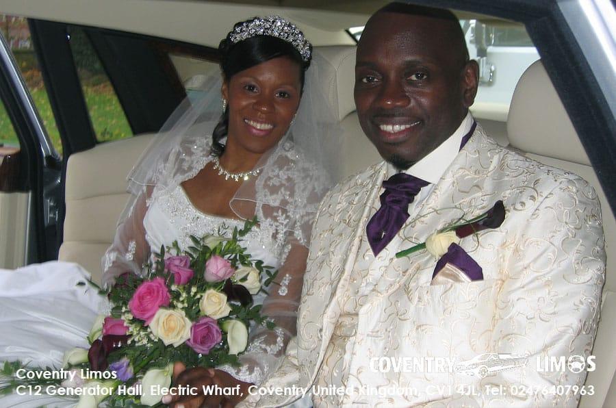Rolls Royce Phantom Coventry Black Wedding