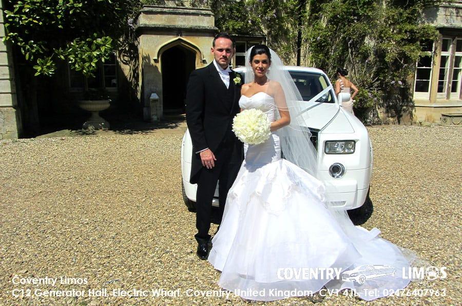 Rolls Royce Phantom Coventry Summer Wedding